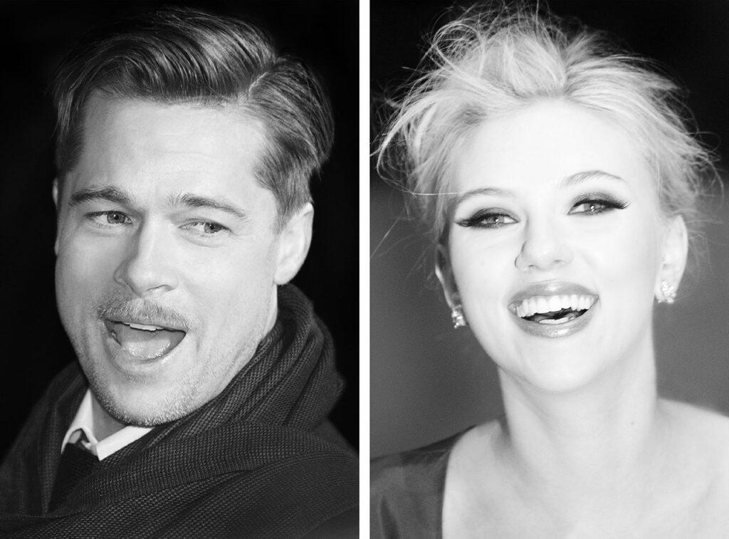 Brad Pitt & Scarlett Johansson (© by Sven Görlich)