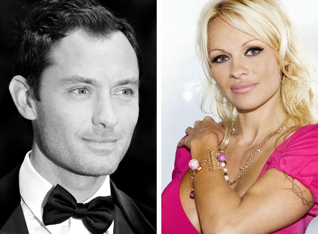 Jude Law & Pamela Anderson (© by Sven Görlich)