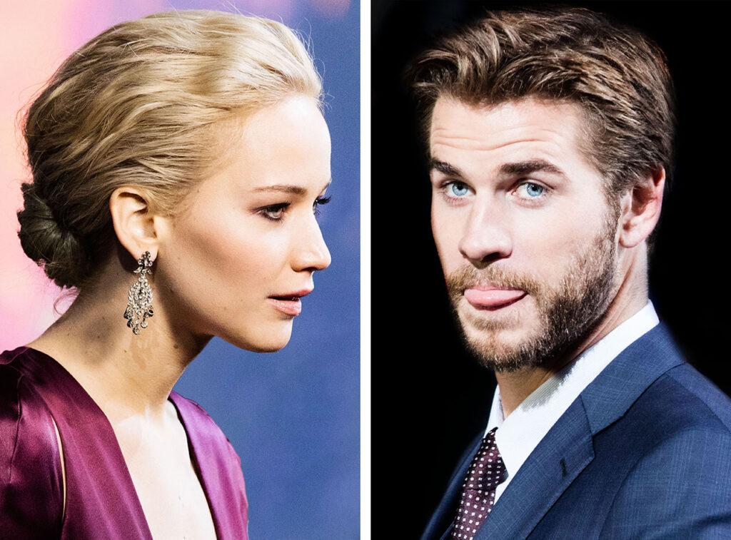 Jennifer Lawrence & Liam Hemsworth (© by Sven Görlich)