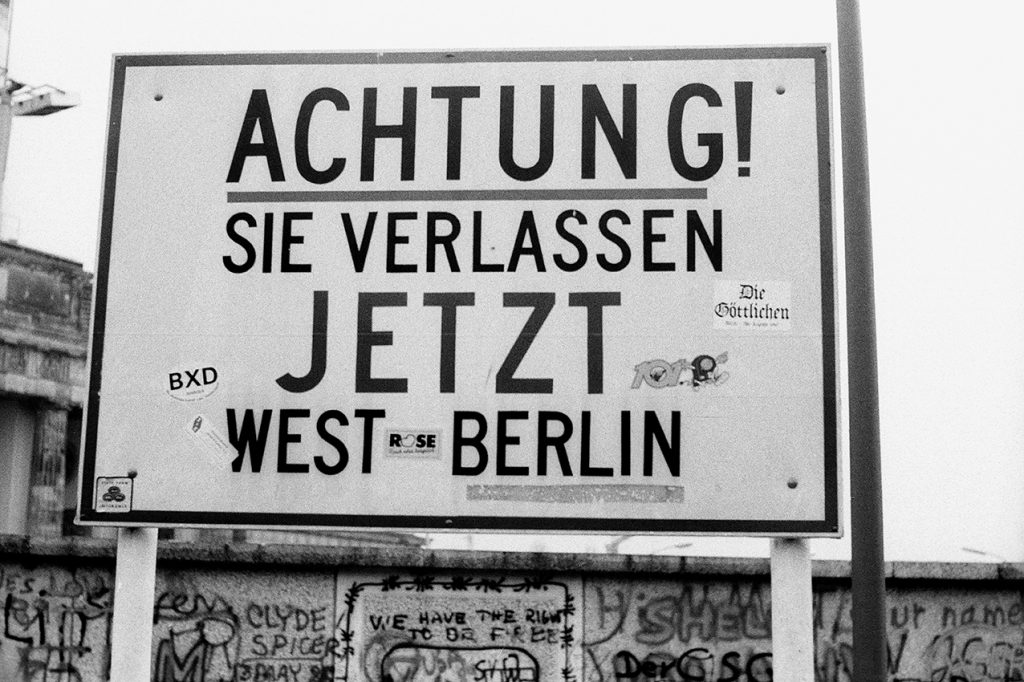West Berlin 1989 (© by Sven Görlich)