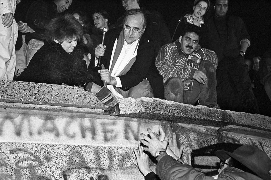 Berlin 9th of November 1989 (© by Sven Görlich)